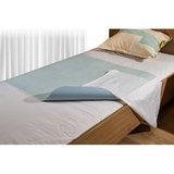 Wasbare matrasbeschermer met instopstroken_