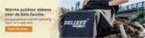 Belieff | Outdoor deken met voetenzak | Rolstoel/Scootmobiel_