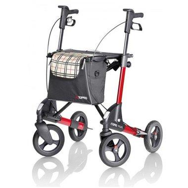 Topro Troja 2G Opvouwbare Lichtgewicht Rollator | Nu tijdelijk met gratis rugsteun! (twv €49)