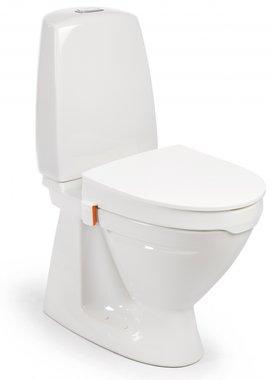 Toiletverhoger 6 cm | Grote opening |  Snel en gemakkelijk te installeren