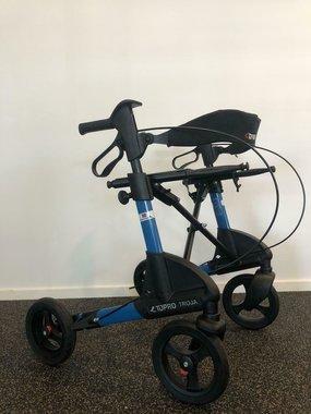 Topro Troja 2G lichtgewicht rollator Blauw | Showroom Aanbieding